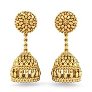 Sanika Gold Jhumki