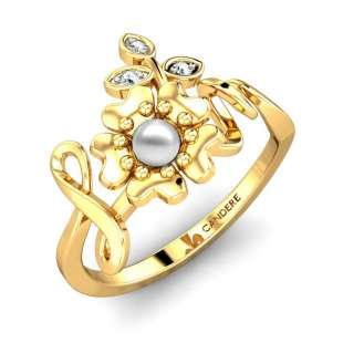 Dolly Pearl Diamond Ring