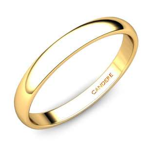 Tanushri Gold Wedding Band