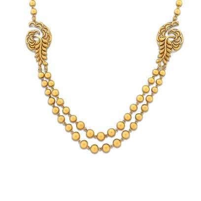 Lakimi Mudhra Gold Necklace